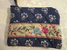 "Vera Bradley --  ""MAISON BLUE"" COIN PURSE - RETIRED 2004"