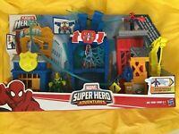 PLAYSKOOL HEROES SUPER HERO ADVENTURES SPIDER-MAN WEB-QUARTERS