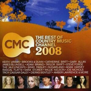 CMC BEST OF COUNTRY MUSIC CHANNEL 2008-44 TRACK DVD-NEW-KEITH URBAN-TAYLOR SWIFT