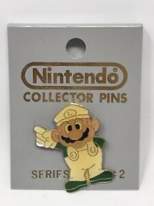Nintendo Collector Pin Enamel #2 Luigi Standing Pointing Series A 1989