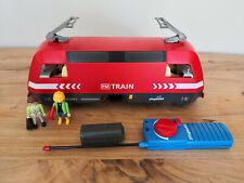 Playmobil RC Lok / Diesellok aus 4010 mit Licht + Batteriekasten ! Super !