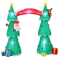 7.5' GIANT Lighted CHRISTMAS TREE Gemmy Airblown Inflatable Holiday Yard Decor