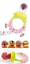USA Food Feeder Teething Pacifier Baby Toddler Fruit Toy Silicone Teether