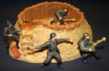 1:32 Ultimate Soldier  21st Century WWII German Mud Barricade Outpost w/ Figures