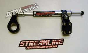 Streamline 11 Way Steering Stabilizer BLACK Suzuki LTR450 L-T450R LTR 450R 06 07
