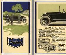 Auburn 1916 - 1916 Auburn Model 6-40A, Model 6-38, Model Union