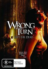 Wrong Turn 3 - Left For Dead (DVD, 2011)