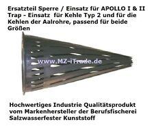 ab3xKaufen 4.Gratis! Sperre Einsatz Ersatzteil Aalreuse APOLLO + Aalrohr Aalkorb