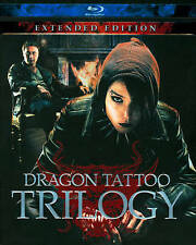 THE GIRL WITH THE DRAGON TATTOO TRILOGY NEW BLU-RAY