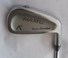 MAXFLI A10 TOUR LIMITED Nickel/Chrome 4 IRON R300 Steel Shaft, Golf Pride Grip