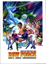 Raw Force , strong limited Mediabook , Kung Fu Cannibals , 100% uncut , Cover A