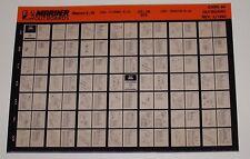 Microfich Parts Catalog Mariner Outboards Magnum II A2 175 D9 EFI Februar 1993