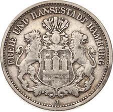 Hamburg, 2 Mark 1876 J