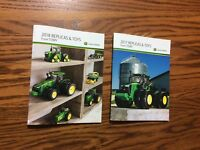 Special  2018,2017 John Deere Pocket Ertl Toy Book 100 year tractor