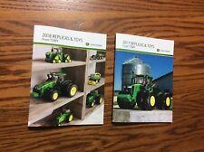 Special  2018,2017 John Deere Pocket Ertl Toy Book 100 year tractor