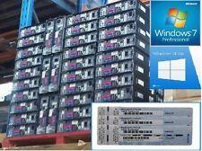 Scrappc 32/64 bit Windows 7 professionnel version complète licence coa autocollant
