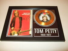 TOM PETTY   SIGNED FRAMED GOLD DISC 2
