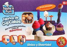 TASTE' N FUN MARSHMALLOW CUPCAKE MAKER CHILDRENS KIDS CREATIVE TOY NEW GIFT