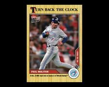 Paul Molitor 1993 World Series Game2 2020 Topps Turn Back The Clock #90 PREORDER