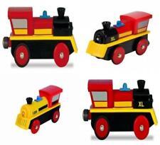 Eisenbahn Holz Eichhorn Lokomotive Lok 1301 Batt.mit 4 Funktionen Neu/ov