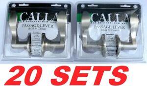 Delaney Callan 501T-BN Bennett Passage Door Lever Set Hall & Closet (20 Sets)