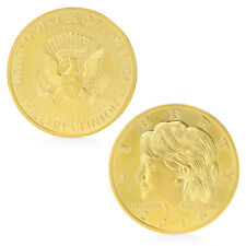 Golden Hillary Clinton In God We Trust Commemorative Challenge Coin Gifts Newly