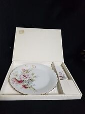 Porcelain CAKE PLATE AND SERVER (gift ware)