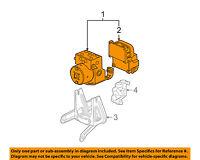Saturn GM OEM 05-07 Vue ABS Anti-lock Brakes-Modulator Valve 15776481