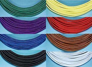 1.0mm Silk Covered Aluminium Wire - Vintage look, jewellery, Pocher upgrade 4m