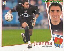 JUANMA ESPANA CD.NUMANCIA CROMO STICKER LIGA ESTE 2005 PANINI