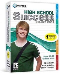Topics Entertainment Topics High School Success 2009 Deluxe - 80960 for PC, Mac