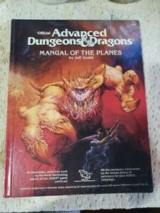 Advanced Dungeons And Dragons Manual Of The Planes 1987