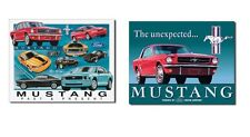 Two Mustang Lover's Signs for Garage, Den, Man Cave, Office, Great Gift Idea!