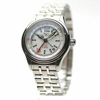 BALL Watch Train Master GMT GM1038C-SJ-WH Automatic White Dial Stainless Men's