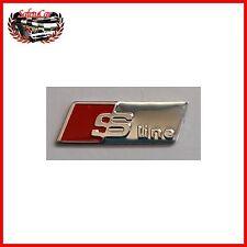Fregio S Line Per Volante Audi – Cromato – Adesivo 3M