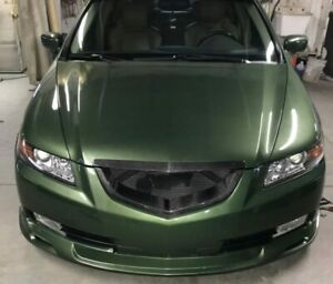 Acura TL Shark Mouth Grill 2004-2006 - Carbon Fiber (Ships From USA)