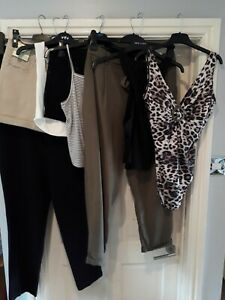 Ladies Womens Summer Clothes Bundle Size 12 Bather Boohoo River Island