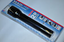 MagLite S2D016 2 Cell D Maglite® Flashlight Black Body Real Krypton Made in USA
