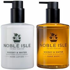 "Noble Isle Hand Wash / Hand Lotion ""Whisky & Water"" & FREE Molton Brown 30ml"