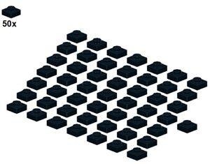 LEGO® - Plates - Black - 3024-04 - 1x1 (50Stk) - Platte - Schwarz