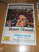 Woman Obsessed Original 1sh Movie Poster