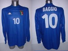 Italy Italia BAGGIO Kappa Shirt Jersey Football Soccer Adult XL Top Vintage H