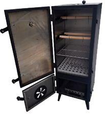 Garden Metall Smoker Smokehouse Complete SET 112x45x43 Fish Meat Pork Barbecue