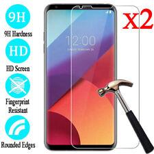 2Pcs 9H Real Tempered Glass Film Screen Protector Cover For LG Q6 V10 V20 V30