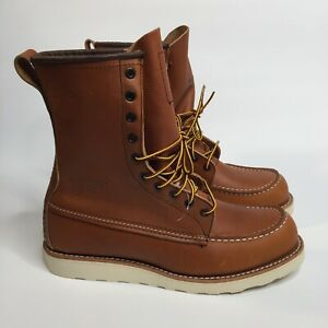Red Wing 10877 Classic Moc Toe Boot 877- Oro Legacy Size 9 D Made In USA!!!