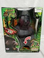 WOW-WEE ANIMAL TRONICS- THE POWER OF MOTION- KING OF THE APES