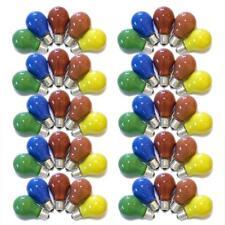 50 x ampoules En Couleur 25w e27 rouge jaune vert bleu orange 25 watts Ampoule poire