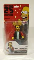 THE SIMPSONS 25 OF THE GREATEST GUEST STARS- MATT GROENING FIGURE NEW IN PACKAGE