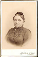 CAB Foto Feine Dame - Chrudim 1890er