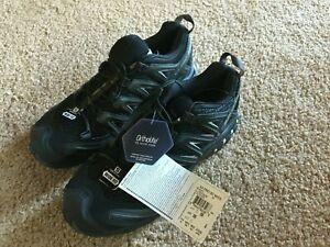 Salomon Men's XA PRO 3D WIDE Black/Magnet/Quiet Shade Running Shoes - US 9EE